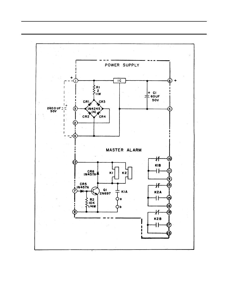 Power Supply And Master Alarm Module Ps1ps2 Schematic Diagram Circuit Of