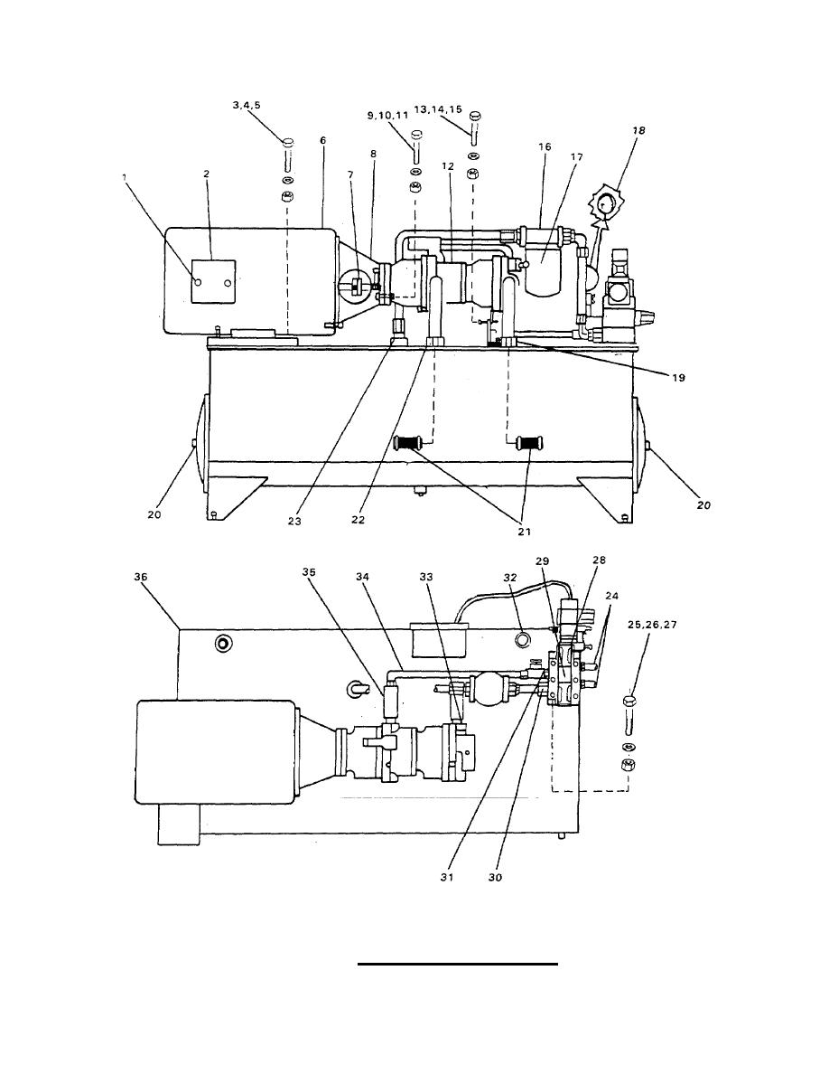 Hydraulic Power Pack Assembly.