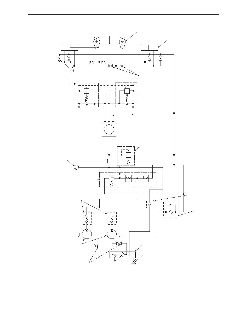 HYDRAULIC STEERING SYSTEM SCHEMATIC