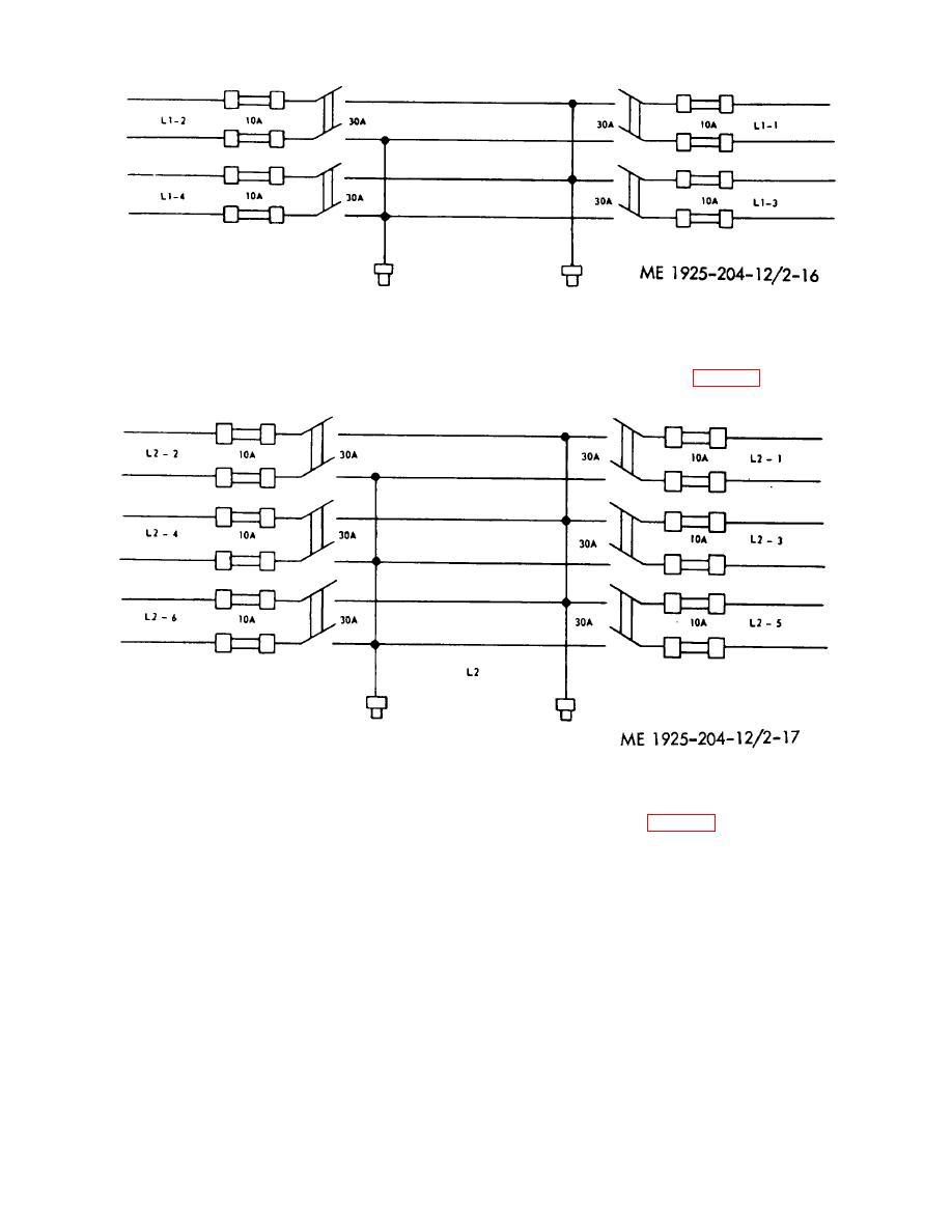 figure 2-16. engine room lighting control panel wiring ... lighting control panel wiring diagram #4